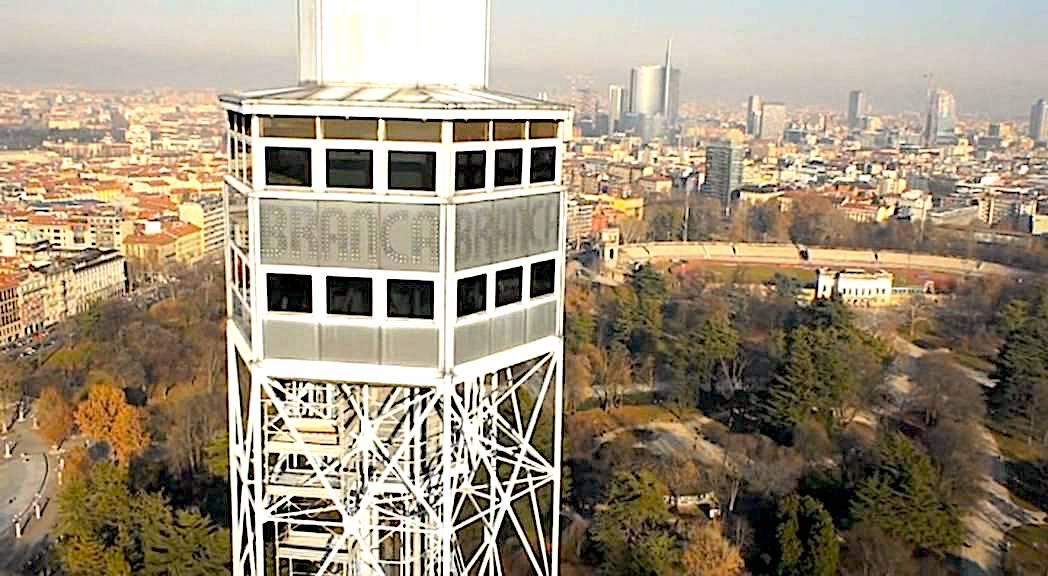 La Torre Branca a Milano