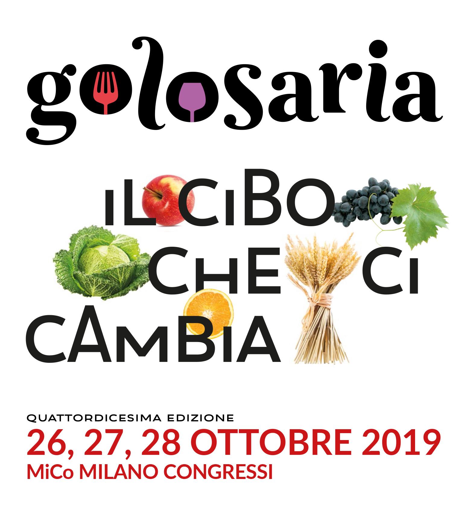 Golosaria Milano 2019